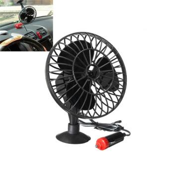 12V Powered Mini Car Truck Vehicle Cooling Air Fan AdsorptionSummer Gift NEW - intl - 3