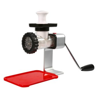 1PC Multifunctional Manual Operated Meat Grinder Sausage StufferPeper Mincer Pasta Maker(Multicolor) - intl