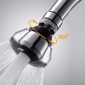 2 Pcs 360 Degree Rotating Tap Bubbler Filter Net Faucet AeratorConnector Nozzle Diffuser for Water Saving Kitchen Accessories -intl - 2