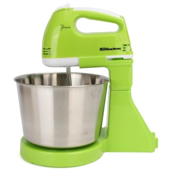 220V 7 Speed Electric Stand Mixer Hand Countertop Kitchen Homemade Cakes Muffins - intl
