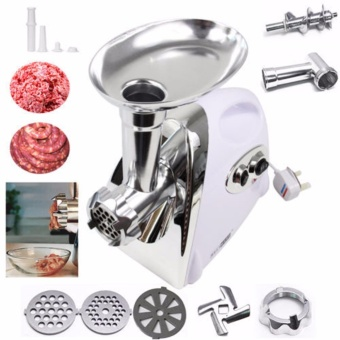 2800W Electric Meat Grinder - White