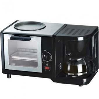 3-In-1 Breakfast Maker with Coffee Machine