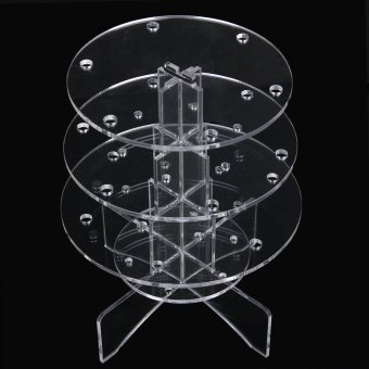 3-Tier 18 Holes Acrylic Cake Pop Lollipop Cupcake Display Stand
