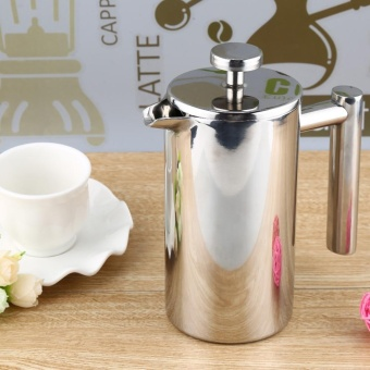 350ML Stainless Steel Cafetiere French Press with Filter DoubleWall - intl