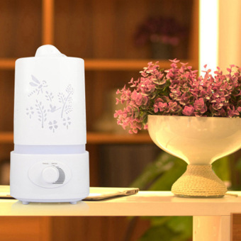 5 in 1 Ultrasonic Humidifier Aroma Oil Diffuser Air Purifier 1.5L -intl - 2