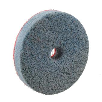 500AA Grit Sponge Polishing Wheel Pad (Grey/Red) - picture 2