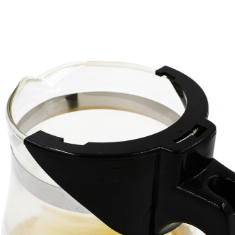 600ml Straight Heat-resistant Glass Teapot Pot Black Tea Mug OolongTea Cup Water Bottle - 3