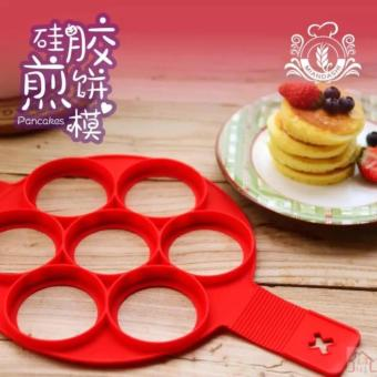 7Holes Silicone Perfect Pancakes Pan Breakfast Maker Egg FlippinFantastic