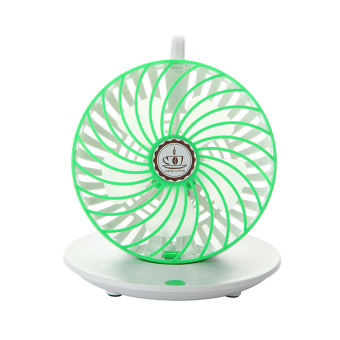 Adjustable Wind Speed USB Coffee Cup Cooling Fan (Green) (Intl) - picture 2