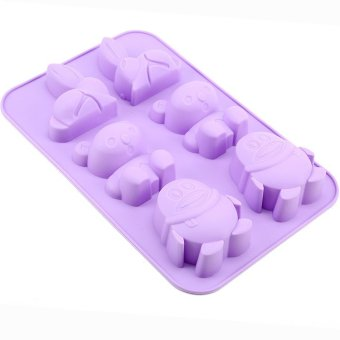 Animals Bakeware Baking Molds Chocolate Mold Cookies Mold Ice Mold Set of 6 (Multicolor) Price Philippines