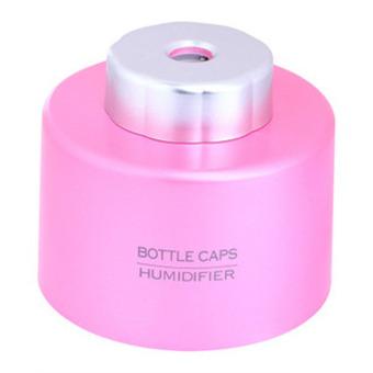 Ansee Portable USB Bottle Cap Mini Humidifier Pink