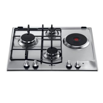 Ariston PC 631 X built in cooktop with 3 gas + 1 electric plate
