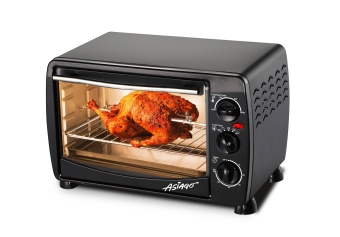 ASIAGO Oven Toaster 18L with Rotisserie & Lamp (Black)