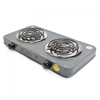 Astron ES-271 Electric Stove Double Burner (Gray) - picture 2