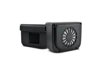 AutoCool Solar Powered Ventilation System Black