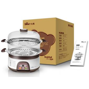 Bear electric steamer DZG-3122 double stainless steel 6L largecapacity (Brown) - intl - 4