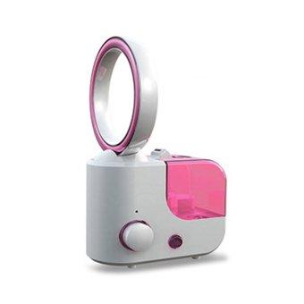 bladeless fan Ultrasonic humidifier-pink
