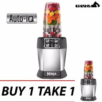 BUY 1 TAKE 1 Nutri Ninja with Auto-iQ One Touch IntelligenceExtractors & Blenders (As Seen on TV) Price Philippines