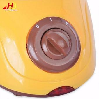 Chocolatiere Household Electric Chocolate Melting Pot Candy Melt Chocolate Cheese Boiler (Yellow) - 3