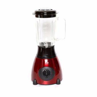 D&D TX-6606 Stainless Multi-Function Glass Jar Blender (Red) - 2