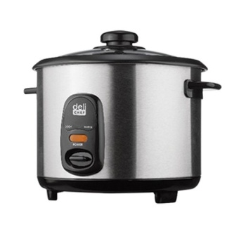Deli Chef TGS-RC180 Rice cooker 1.8L (Silver/Black)