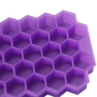 DIY Ice Cream Tools Molds Yogurt Ice Box 37 Ice Cubes Honeycomb Ice Cream Maker Form Pops Mould Popsicle Fridge- White - intl - 4