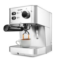 donlim dldk4682 italian coffee machine household commercial fully automatic steam type stainless steel intl