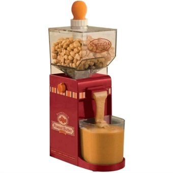 Electric Homemade Peanut Butter Machine (Red)