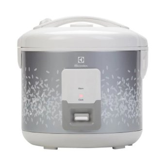 Electrolux ERC 2100 Rice Cooker 1.8L (Silver/White) - picture 2