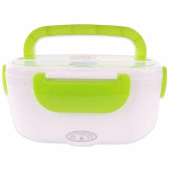 Electronic Heating Lunch Box (Green) Price Philippines