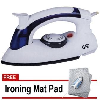 Foldable Travel Steam Iron HT-258B with free Ironing Mat Pad