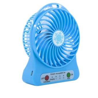 Frost Portable Rechargable 4.5W Mini Fan (Blue)
