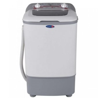 Fujidenzo JWS-680 Single Tub Washing Machine 6.8 kg (White/Grey)