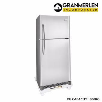 Genuine Fixed foot refrigerator washing machine base adjustablebottom bracket heightening pad tray elegant shelves - White - 2