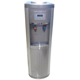 Granmerlen Hot and Cold Water Dispenser with Cabinet Storage (Gray)