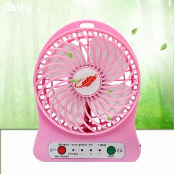 Greatnes SG-F-95B Chargeable Mini USB Fan (Pink)
