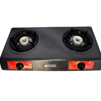 Hanabishi HS-1 Double Burner Gas Stove (Gray)
