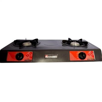 Hanabishi HS-1 Double Burner Gas Stove (Gray) - picture 2