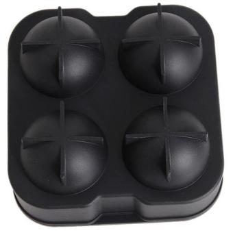Hang-Qiao Hot Bar Big Round Ball Ice Cube Maker Tray Mould Black - picture 2