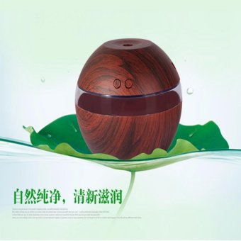 Hanyu Ultrasonic Aroma Oil Diffuser Air Humidifier Purifier AirCleaner(Dark wood color) - intl - 4