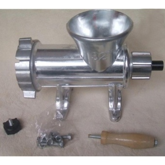 Heavy Duty Hand Operated Aluminum Alloy Meat Mincer/Grinder #32 (32kilos/hr) - 2