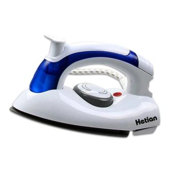 Hetian CL-258B Travel Palm Size Steam Iron (Blue/White)