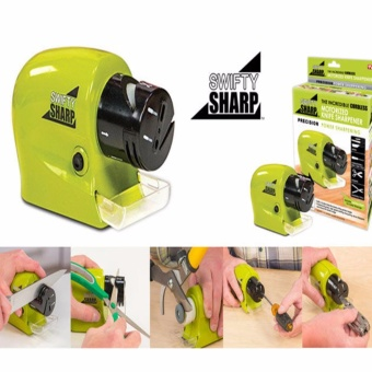 HM Swifty Sharp Incredible Cordless Kitchen Motorized KnifeSharpeners