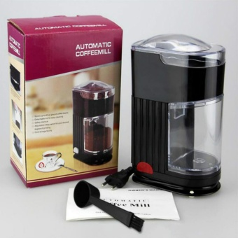 Home Coffee Grinding Machine Electric Portable Burr Mill EspressoCoffee Bean Grinder Machine Coffee Powder Maker - intl