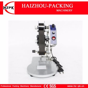 HZPK Coding Machine Hand Pressure Color Ribbon Hot Printing Machine Plastic Production Date Number Code Date Printer DY-8 - intl - 3