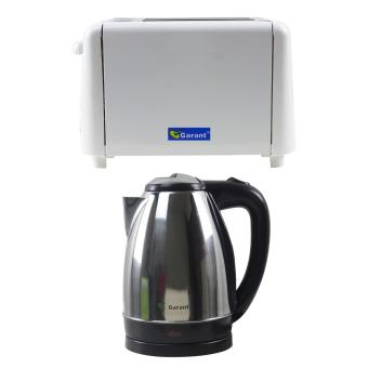 Garant GBT-120 Bread Toaster with Garant GCK18SS Cordless Kettle Price Philippines
