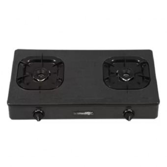 Harga La Germania G8002BL Two Burner Gas Stove (Black)