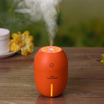 Lemon Humidifier with LED Night Light, Portable Cool Mist Mini USB Ultrasonic Air (Orange) Price Philippines