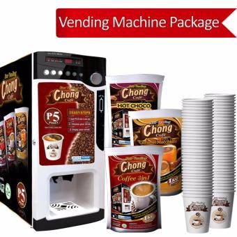 Chong Coffee Vending Machine Business Package Price Philippines