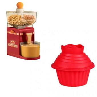 Harga Nostalgia Electric Homemade Peanut Butter Machine with Big Top Cupcake
